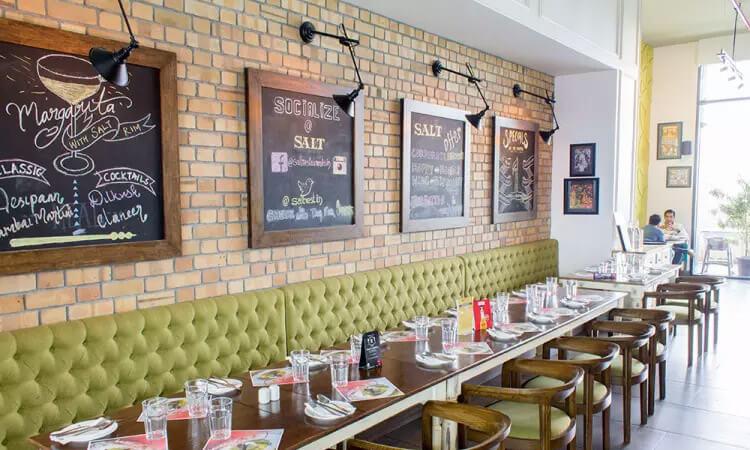 Salt – Indian Restaurant – Bar & Grill, Bangalure